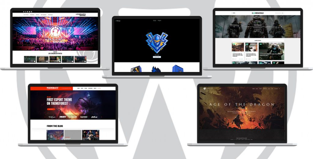 5 Gaming WordPress Themes